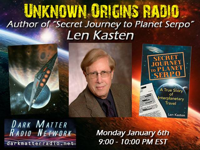 Unknown Origins Radio » Episode 4 1 – Secret Journey to